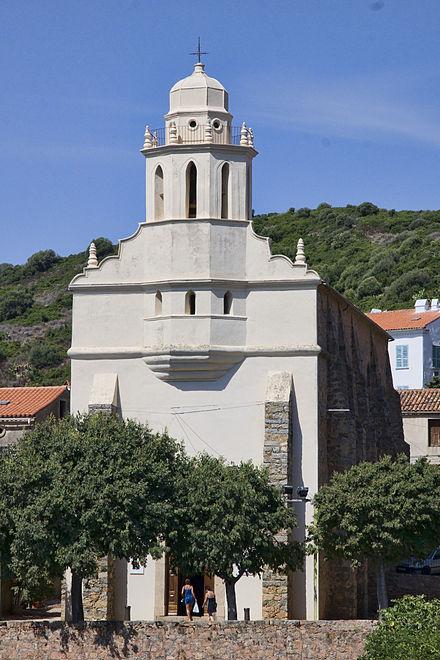 L'église grecque de Cargèse